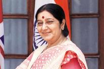 Sushma Swaraj to visit Mauritius, Maldives from today