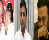 UP CM Akhilesh Yadav sacks two ministers Anand Singh, Manoj Paras