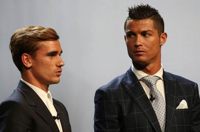 Ronaldo says Griezmann deserved Best Player in Europe award