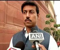 Rajyavardhan Singh Rathore assures of 'progressive' Budget