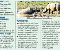 Poachers mutilate sixth rhino