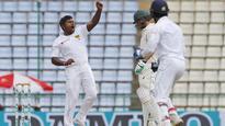 Herath puts Sri Lanka three wickets from victory