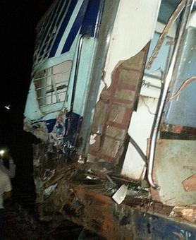 2 trains collide near Gorakhpur; 3 killed, 10 injured