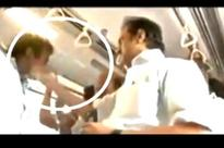 Caught on camera: Stalin slapping a DMK worker in Chennai metro