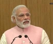 Bad weather forces PM Modi's flight to stopover at Jaipur