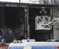 Moscow: Fire breaks out in printing press warehouse, at least 16 dead