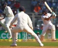 Live, Mumbai Test: Vijay fifty anchors India's response to England's 400