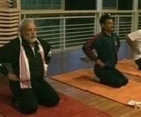 Narendra Modi, yoga and a new university for Gujarat