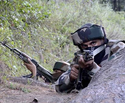 Terrorist killed as infiltration bid foiled in Uri