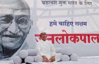 Spat between AAP leader, V.K. Singh at Hazare fast venue