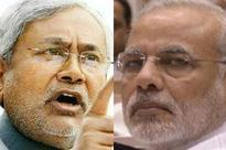Nitish hits back at Modi, says arrogance is dropping from every inch of his body