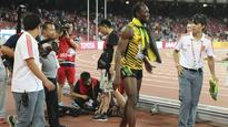 Watch: 'Gatlin paid him off' - Usain Bolt jokes about cameraman crash