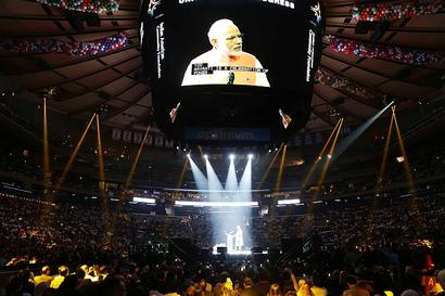 Modi@MSG: An Indian-American point of view