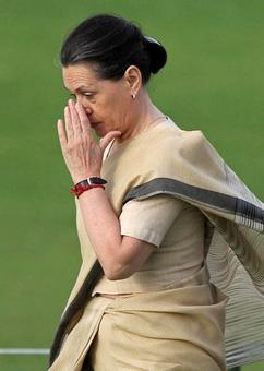 BJP MP: If Sonia wasn't white-skinned, would Cong accept her as leader?