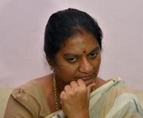 Sasikala Pushpa to appear before Madras High Court's Madurai bench