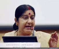 Sushma Swaraj hits back at Pakistan