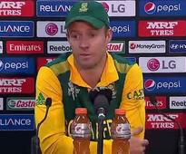 World Cup 2015: Defeat to India factor behind my knock, says De Villiers