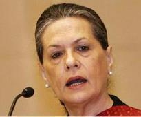 Modi govt has only done 'show-baazi': Sonia