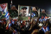 Fidel Castro burial ceremony under way in Cuba
