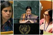 India's women power clinically demolished Pak at UN