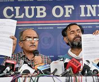 AAP expels party rebels Yogendra Yadav, Prashant Bhushan for 'anti