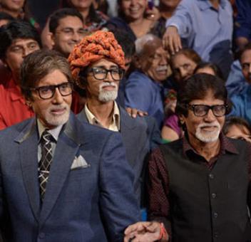 Amitabh Bachchan meets his humshakals!