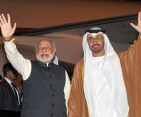 Abu Dhabi Prince arrives, n-deal not on agenda