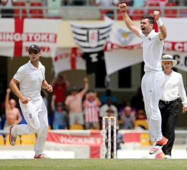 'King of swing' Anderson eclipses Botham's record