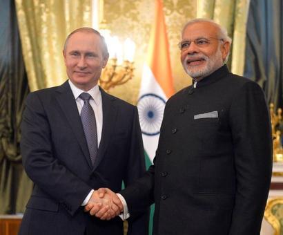 Modi congratulates Putin on re-election as Russian president