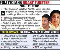 Comedian Tanmay Bhat may face FIR for `insulting' Sachin-Lata video
