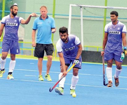 India lose 1-4 to Spain in practice game ahead of Rio