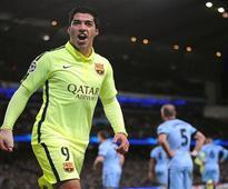 Suarez leads Barcelona to win, Bueno scores 4 for Rayo