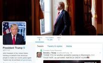 Donald Trump Takes Control of @POTUS Twitter Handle