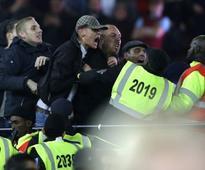 League Cup: West Ham-Chelsea fan violence leads to seven arrests