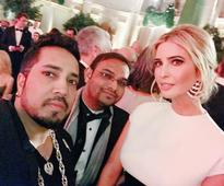 Look, who took a selfie with Ivanka Trump