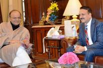 Nepal Foreign Minister Prakash Mahat Holds Talk With Arun Jaitley Over Demonetisation And other Issues