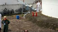 Indian Navy's pilotless aircraft crashes in Kochi