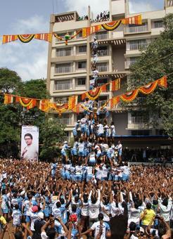 IMAGES: Govindas protest SC Dahi Handi rule